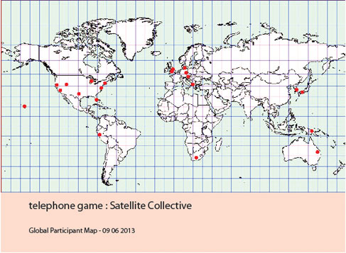 Telephone Game Global Participant Map